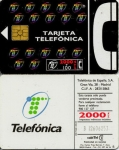 tarjeta telefonica